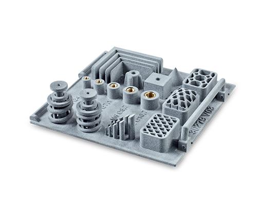 additiv gefertigter Einleger aus dem thinkTEC 3D Musterkoffer