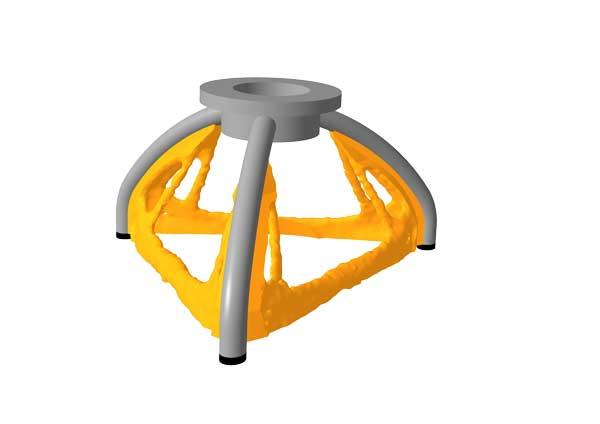 Konstruktion Greifarm aus dem 3D-Drucker