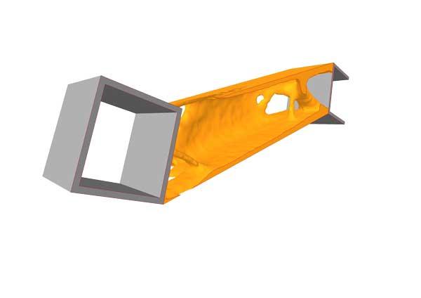 Konstruktion 3D-Druckteil